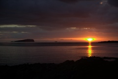 Sunset over Easdale